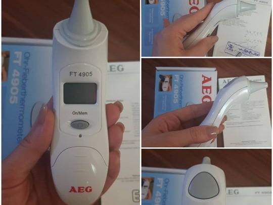 ترمومتر (تب سنج) دیجیتال AEG آلمان