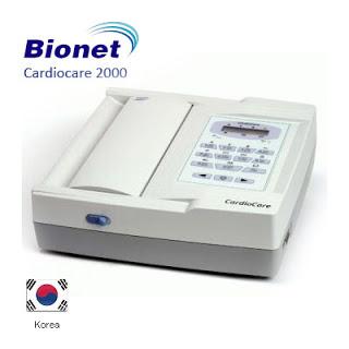 الکتروکاردیوگراف( نوار قلب) 12 کاناله Bionet