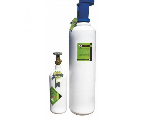 کپسول اکسیژن 5 لیتری استیل