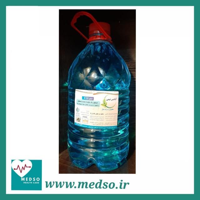 محلول ضدعفونی کننده 4 لیتری آبادیس شیمی مخصوص دست و سطوح