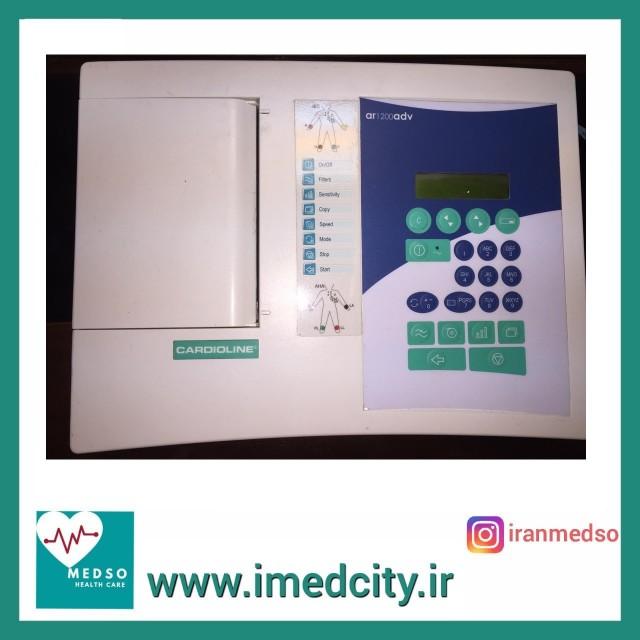 الکتروکاردیوگراف( نوار قلب) 6 کاناله CARDIOLINE