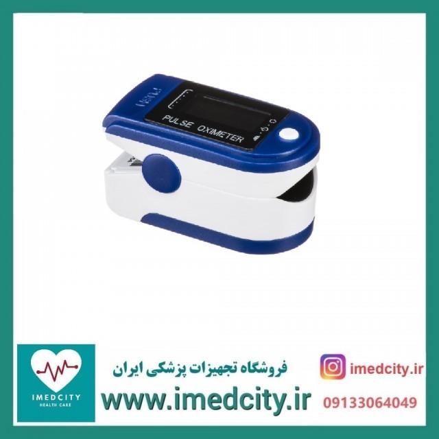 پالس اکسیمتر  Fingertip Pulseoximeter اورجینال ودارای شاخص خونرسانی (PI)