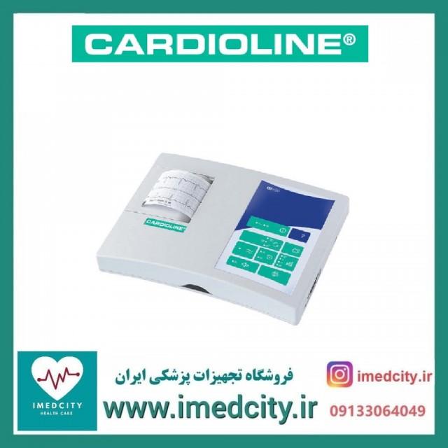 الکتروکاردیوگراف( نوار قلب) 3 کاناله CARDIOLINE