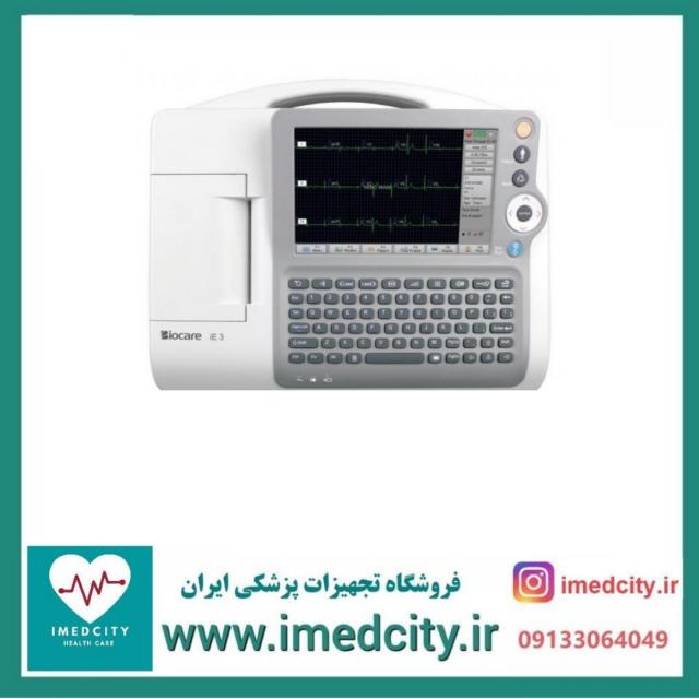 الکتروکاردیوگراف( نوار قلب) سه کاناله Biocare