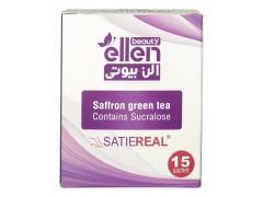 پودر آشامیدنی چای سبز و زعفران
