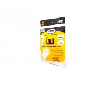 دستکش یکبار مصرف سما بسته 100 عددی استاندارد