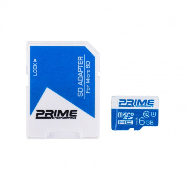 کارت حافظه پرایم کلاس 10 استاندارد UHS-I U1 ظرفیت ۸ گیگابایت