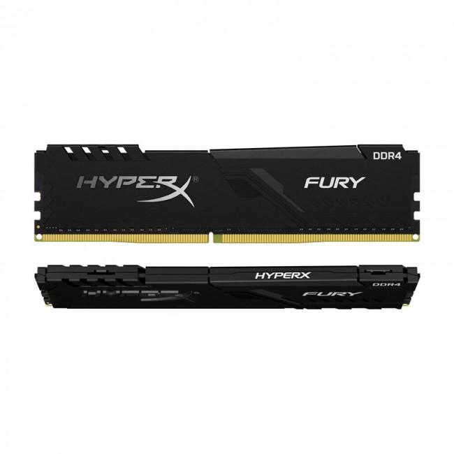 رم کامپیوتر کینگستون مدل HyperX Fury DDR4 2400MHz ظرفیت 4 گیگابایت
