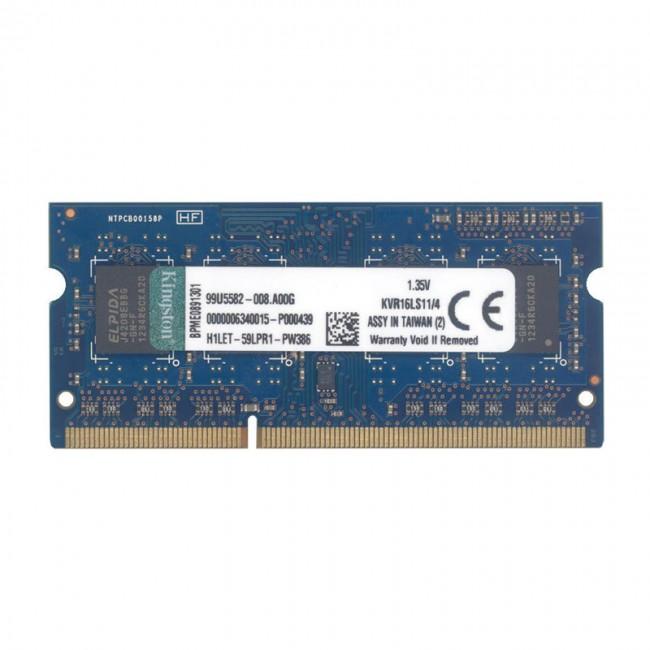 رم لپ تاپ کینگستون مدل  PC3 10600MHz باس 1333 ظرفیت 4 گیگابایت