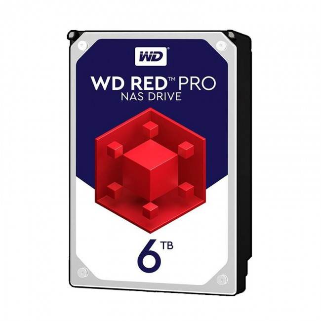 هارد دیسک اینترنال وسترن دیجیتال سری قرمز Red Pro ظرفیت ۶ ترابایت