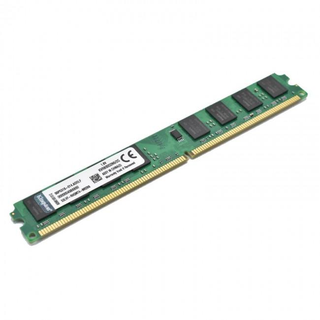 رم دسکتاپ DDR2 کینگستون تک کاناله 800 مگاهرتز ظرفیت 2 گیگابایت