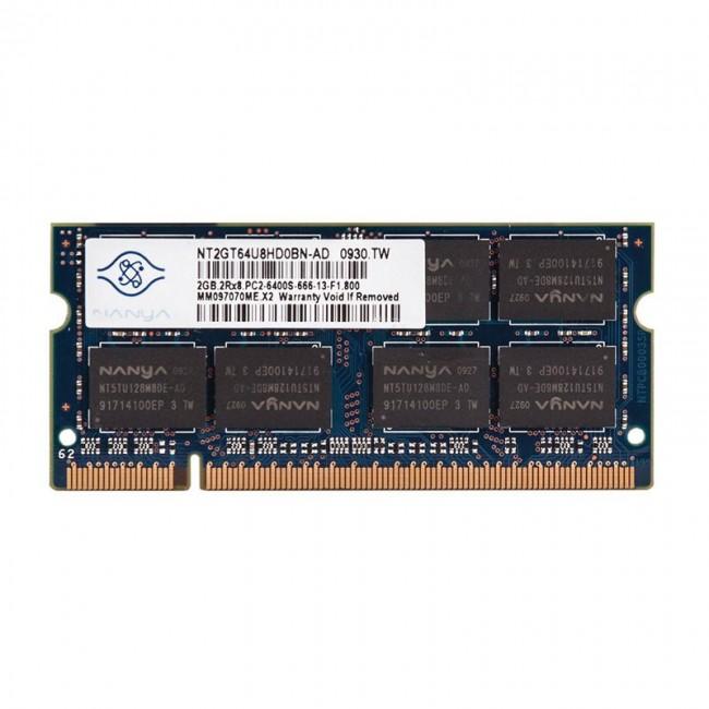 رم لپ تاپ نانیا مدل PC2 6400s MHz ظرفیت 2 گیگابایت