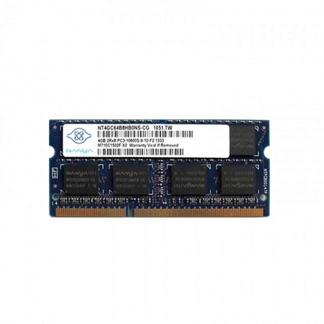 رم لپ تاپ نانیا مدل PC3 10600 MHz ظرفیت 4 گیگابایت