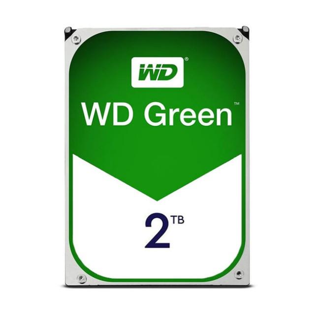 هارد دیسک اینترنال وسترن دیجیتال سری سبز ظرفیت ۲ ترابایت شرکتی