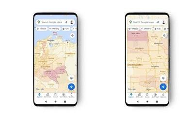 گوگل مپس وضعیت کرونا در مناطق مختلف را نمایش می دهد