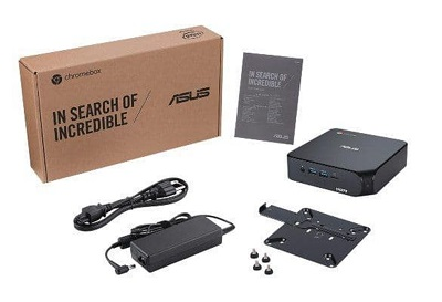 کروم باکس 4 ایسوس با پردازنده های نسل 10 اینتل رونمایی شد