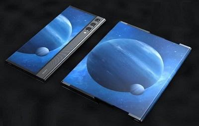 مدل سه بعدی گوشی رول شدنی شیائومی براساس پتنت های این شرکت ساخته شد