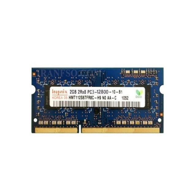 رم لپ تاپ هاینیکس مدل PC3 12800MHz باس 1600 ظرفیت 2 گیگابایت