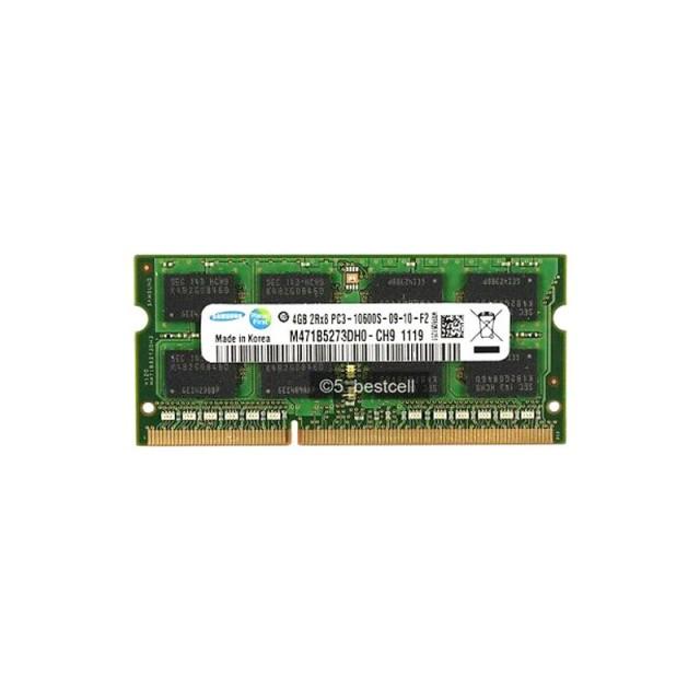 رم لپ تاپ سامسونگ مدل PC3 10600MHz باس 1333 ظرفیت 4 گیگابایت