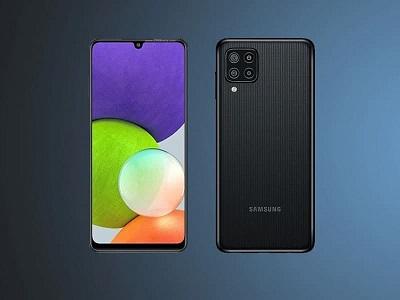 انتشار رندرهای جدید از گوشی هوشمند گلکسی M22 سامسونگ
