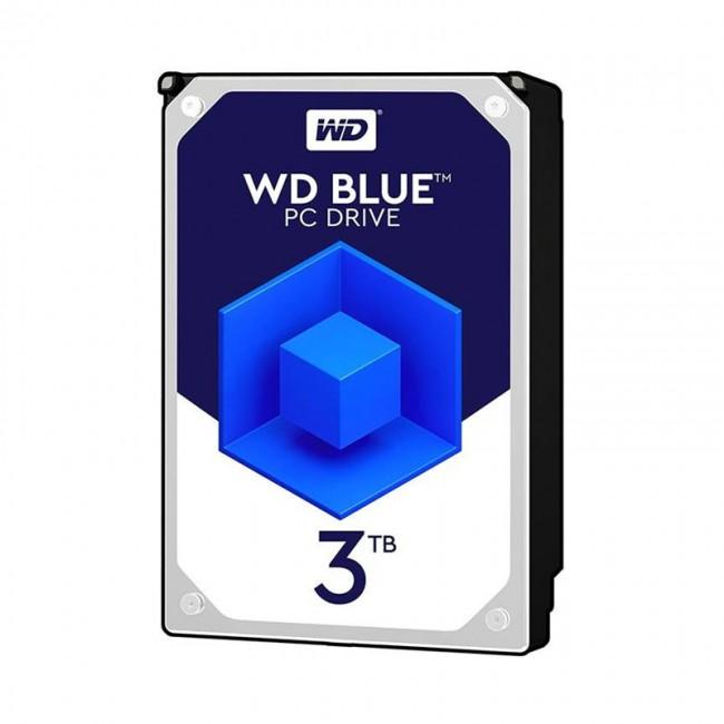 هارد دیسک اینترنال وسترن دیجیتال سری آبی ظرفیت ۳ ترابایت