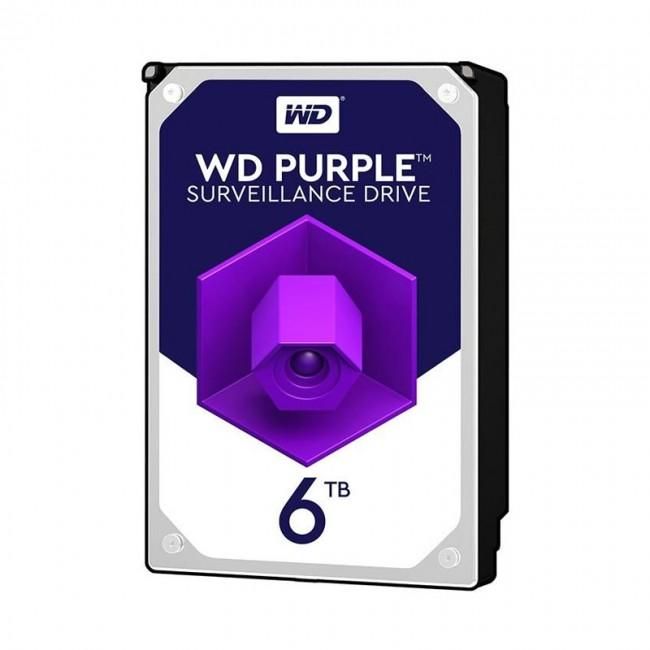 هارد دیسک اینترنال وسترن دیجیتال سری بنفش ظرفیت ۶ ترابایت
