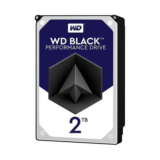 هارد دیسک اینترنال وسترن دیجیتال سری مشکی ظرفیت ۲ ترابایت شرکتی