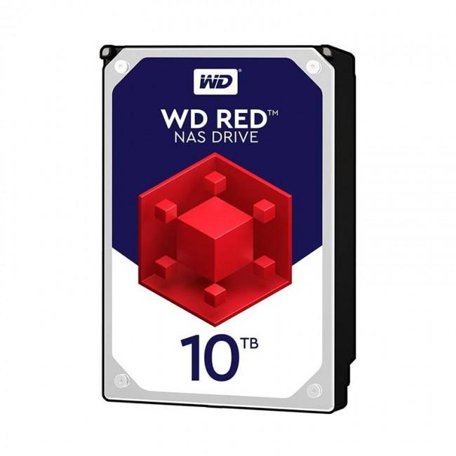 هارد دیسک اینترنال وسترن دیجیتال سری قرمز ظرفیت ۱۰ ترابایت