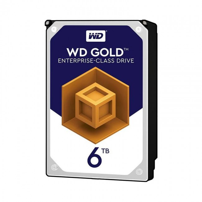 هارد دیسک اینترنال وسترن دیجیتال سری طلایی ظرفیت ۶ ترابایت