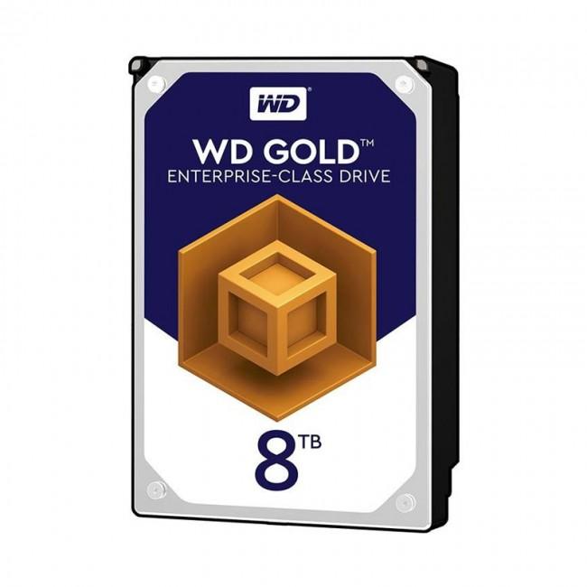 هارد دیسک اینترنال وسترن دیجیتال سری طلایی ظرفیت ۸ ترابایت