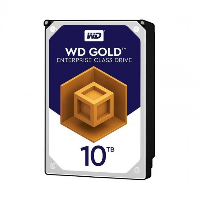 هارد دیسک اینترنال وسترن دیجیتال سری طلایی ظرفیت ۱۰ ترابایت