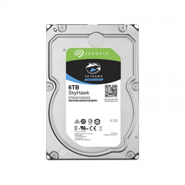 هارد دیسک اینترنال سیگیت سری اسکای هاک ظرفیت ۶ ترابایت