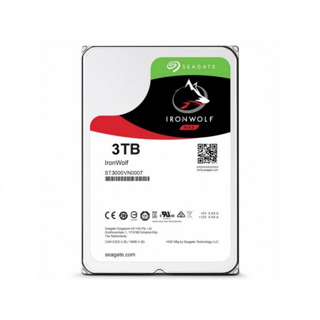 هارد دیسک اینترنال سیگیت سری آیرون ولف ظرفیت ۳ ترابایت