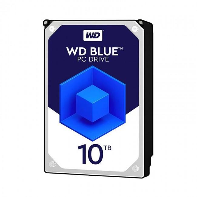 هارد دیسک اینترنال وسترن دیجیتال سری آبی ظرفیت ۱۰ ترابایت