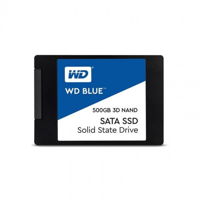 هارد اس اس دی وسترن دیجیتال سری آبی ظرفیت ۵۰۰ گیگابایت
