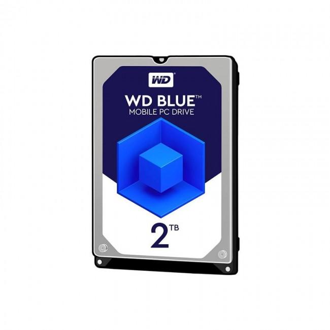هارد لپ تاپ وسترن دیجیتال سری آبی ظرفیت ۲ ترابایت شرکتی