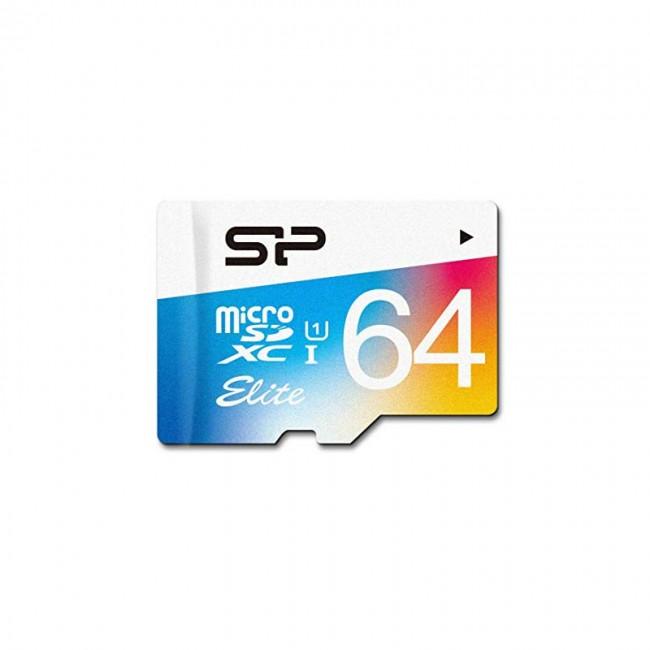 کارت حافظه سیلیکون پاور مدل Color Elite ظرفیت ۶۴ گیگابایت