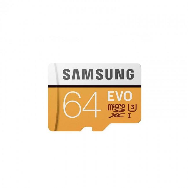 کارت حافظه سامسونگ مدل Evo ظرفیت ۶۴ گیگابایت