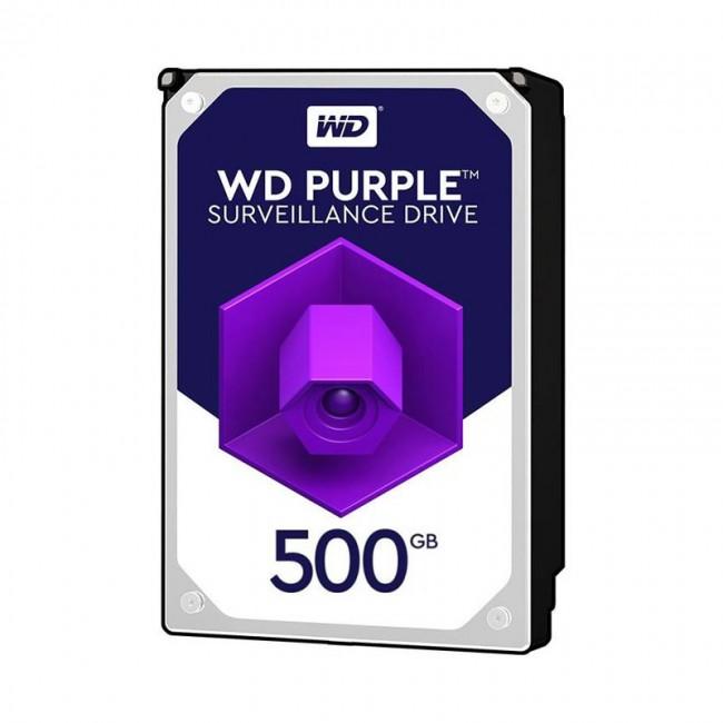 هارد دیسک اینترنال وسترن دیجیتال سری بنفش ظرفیت ۵۰۰ گیگابایت