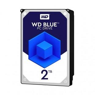هارد دیسک اینترنال وسترن دیجیتال سری آبی ظرفیت ۲ ترابایت - ریفر