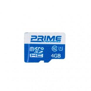 کارت حافظه پرایم کلاس 10 استاندارد UHS-I U1 ظرفیت 4 گیگابایت