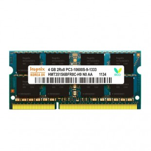 رم لپ تاپ هاینیکس مدل  PC3 1333MHz ظرفیت 4 گیگابایت