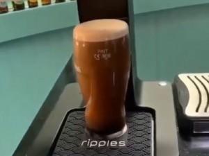 چاپ طرح روی قهوه