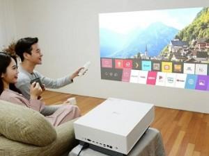 تجربه سینما در خانه؛ ال جی از پروژکتور 4K جدیدی رونمایی کرد