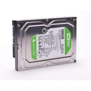 هارد دیسک اینترنال وسترن دیجیتال سری سبز ظرفیت ۵۰۰ گیگابایت