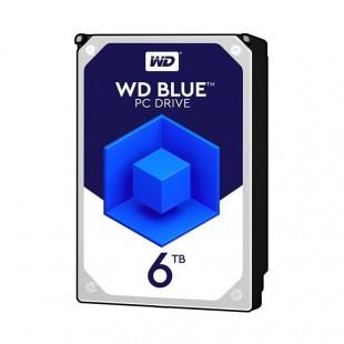 هارد دیسک اینترنال وسترن دیجیتال سری آبی ظرفیت ۶ ترابایت