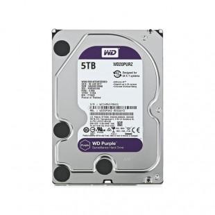 هارد دیسک اینترنال وسترن دیجیتال سری بنفش ظرفیت ۵ ترابایت