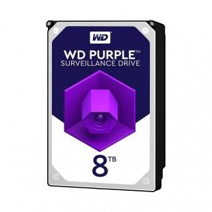 هارد دیسک اینترنال وسترن دیجیتال سری بنفش ظرفیت ۸ ترابایت
