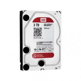 هارد دیسک اینترنال وسترن دیجیتال سری قرمز ظرفیت ۳ ترابایت