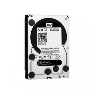 هارد دیسک اینترنال وسترن دیجیتال سری مشکی ظرفیت ۵۰۰ گیگابایت